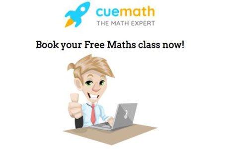 Enjoy a free maths lesson with CueMath