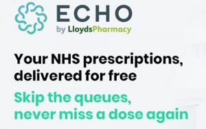 Echo deliver NHS prescriptions free to your home