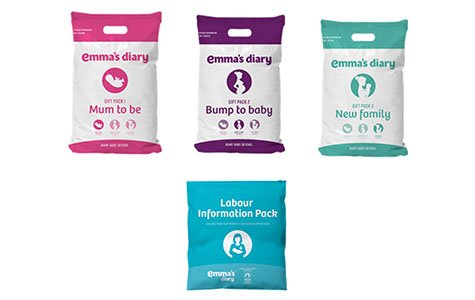 The FREE Emma's Diary mother and baby gift packs are packed full of big brand products and samples.