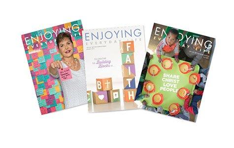 Claim your free copy of Everyday Life magazine