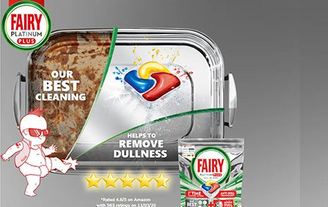 100,000 packets of Fairy platinum dishwasher tablets are being given away for free. Claim yours now.