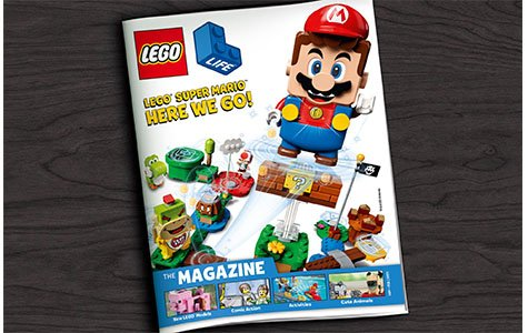 Enjoy four copies of Lego magazine delivered to your home for free each year.