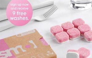 Claim your free Smol Dishwasher Tablets