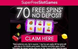 Claim 70 free spins